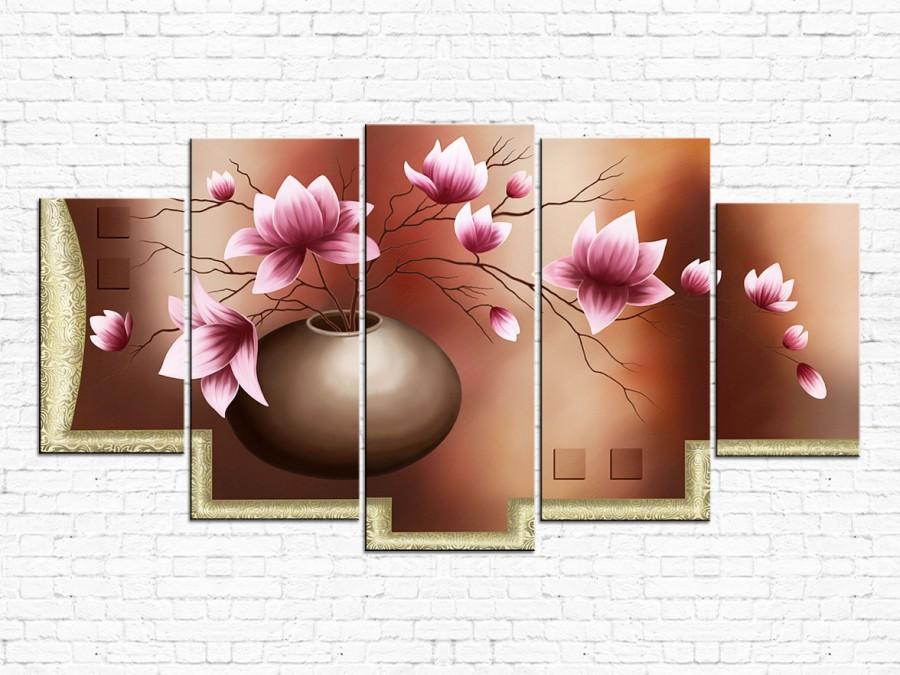 Цветы магнолии № 501Ц