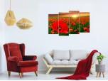 Модульная картина Маки № 850ЦМК