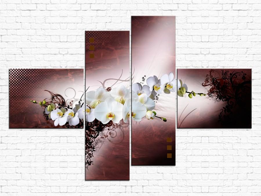 Цветы орхидеи № 010Ц