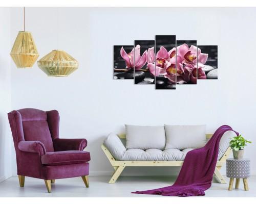 Цветы орхидеи № 08041ЦО