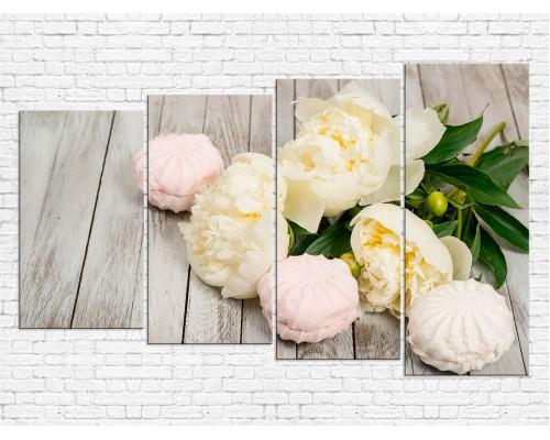 Цветы пионы № 0019ЦП