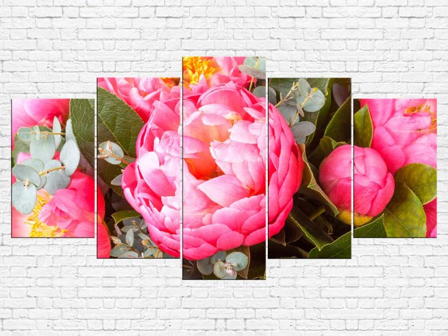Цветы пионы № 08082ЦП