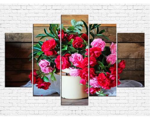 Цветы пионы № 08095ЦП