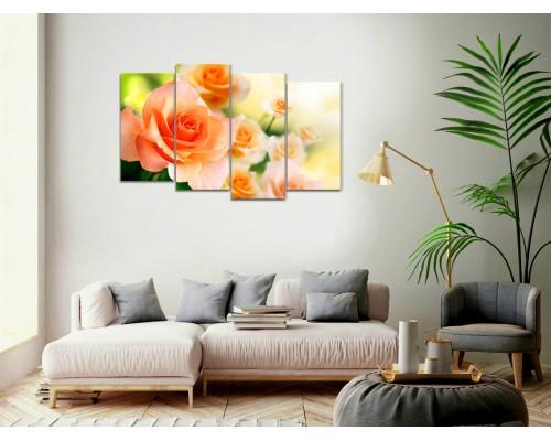 Цветы розы № 869Ц