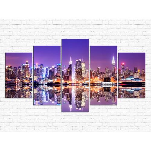Модульная картина Город № 998Г