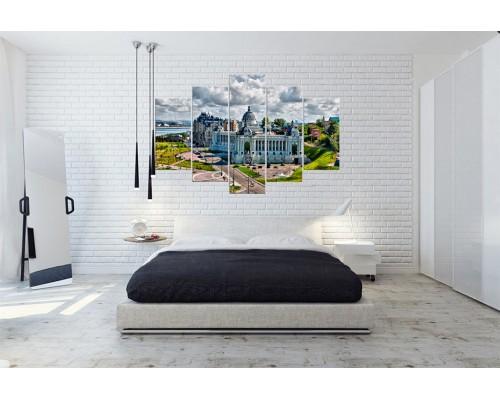 Модульная картина Город № 017Г