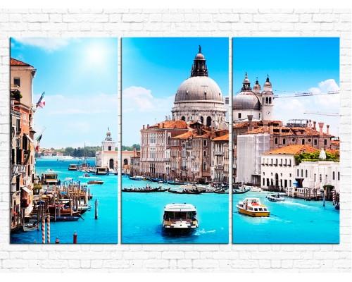 Модульная картина Венеция № 918Г