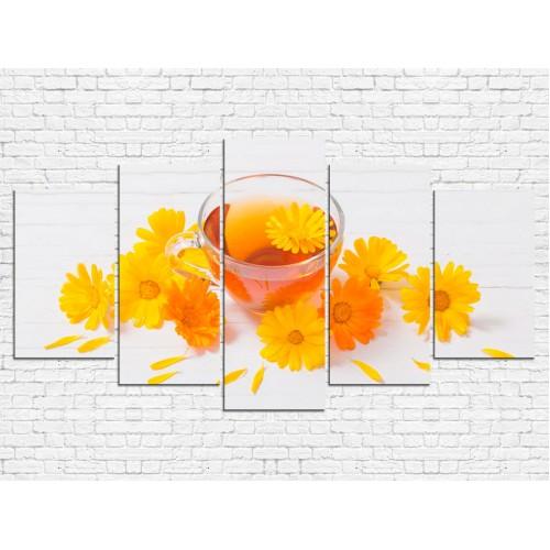 Модульная картина Чай № 0008К