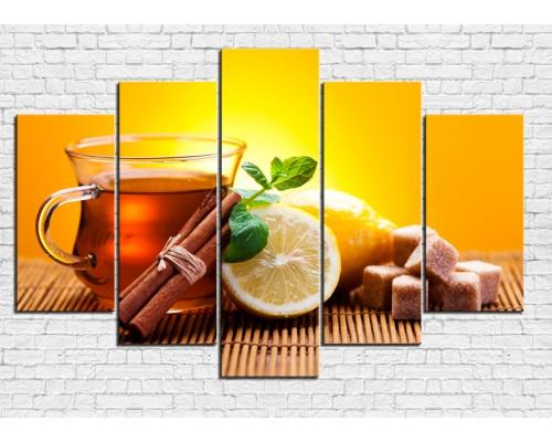 Модульная картина Чай № 0046КЧ
