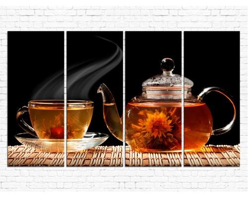 Модульная картина Чай № 0017К