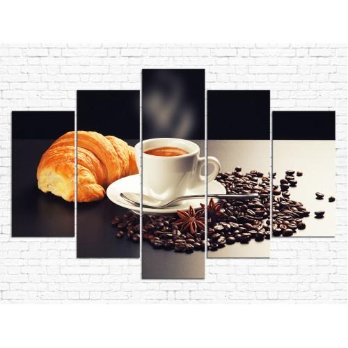 Модульная картина Кофе № 706К