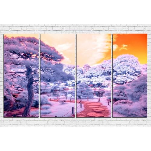 Модульная картина природа № 0008П