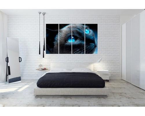 Модульная картина Кошки № 6518Ж