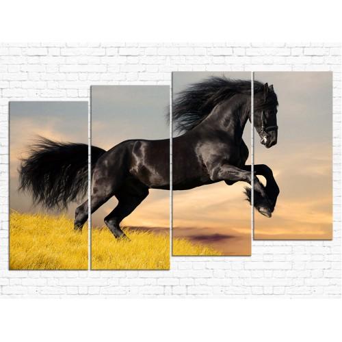 Модульная картина Лошади № 619Ж