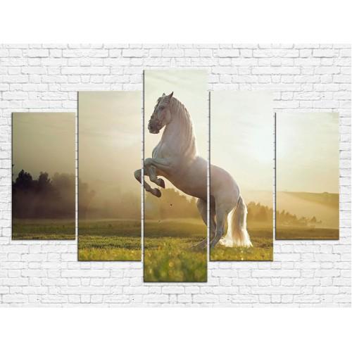 Модульная картина Лошади № 6549Ж